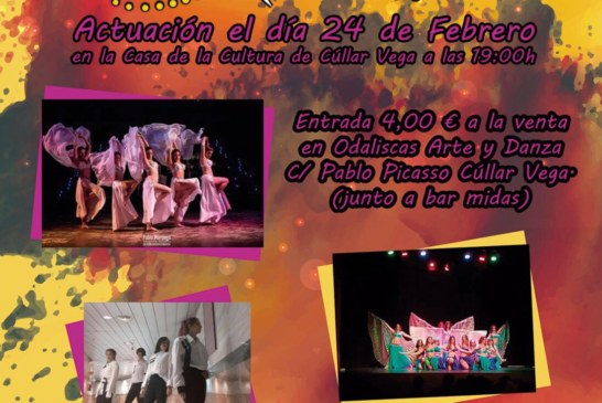 Gala de Baile a cargo de la Asociación Odaliscas Arte y Danza