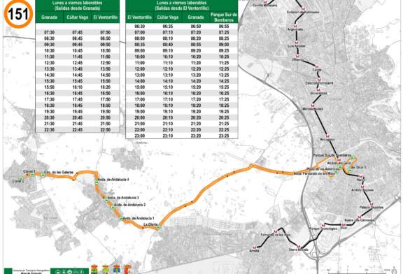 Horarios Bus con Refuerzos y Modificaciones para el 28 de Mayo