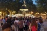 50 culleros conocen la historia del agua en Granada en una jornada de senderismo nocturno