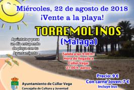¡Vente a la playa! Playa de Torremolinos
