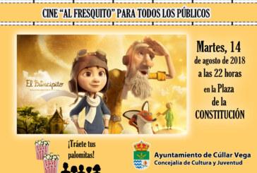 """¡Cine al fresquito! Película """"El Principito"""""""