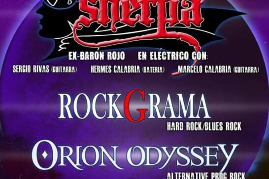 El 'ex Barón Rojo' Sherpa participa en el Cúllar Vega Rock, uno de los pocos festivales gratuitos de la provincia