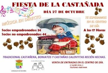 Cúllar Vega organiza su tradicional 'castañada' para celebrar Todos los Santos