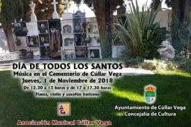Música de cámara en el cementerio de Cúllar Vega para celebrar Todos los Santos