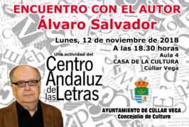 Encuentro con el Autor Álvaro Salvador