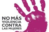 Actos por el Día Internacional para la Eliminación de la Violencia contras las mujeres