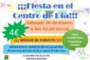 ¡Fiesta en el Centro de Día el próximo sábado 26 de enero!
