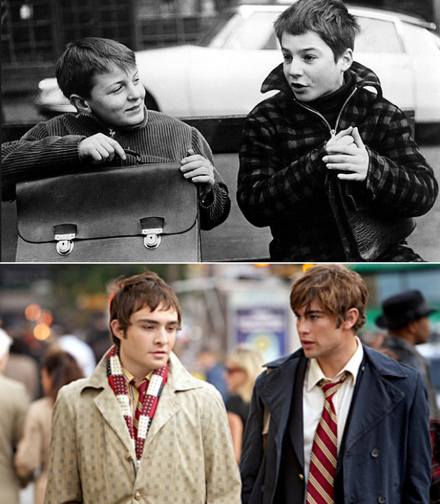 Friendship Similarities in The 400 Blows and Gossip Girl