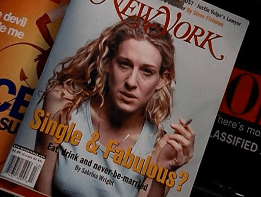 Carrie Bradshaw: An Emo, Suicidal Wreck