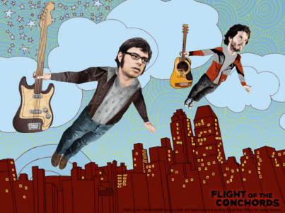 Promo poster for Flight of the Conchords