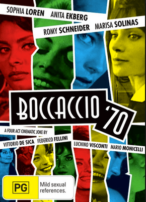 Alternate promo for Boccaccio '70