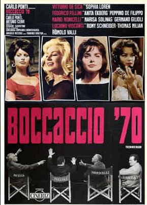 Boccaccio '70: Showcasing the Renaissance in Italian Film