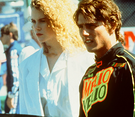 Cruise and Kidman in Days of Thunder