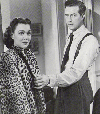 The leopard coat signals the meet-cute between Helen and Don in The Lost Weekend