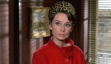 Audrey as Regina Lampert in Charade