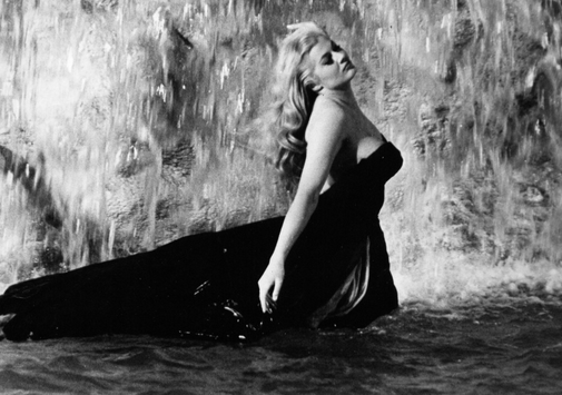 Anita Ekberg is the most classic instance of making the most of her screen time