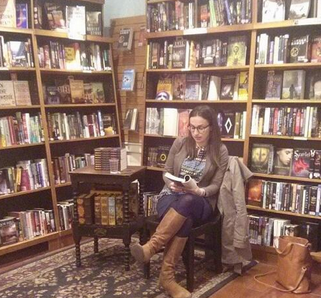 Waldman reads from her debut
