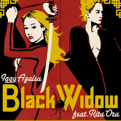 "Pastiche Explodes in Iggy Azalea's ""Black Widow"" Video"