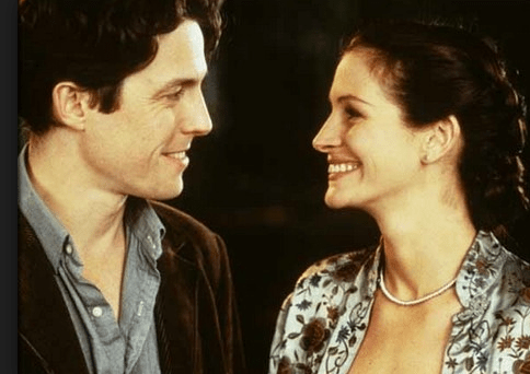 As the dopey Will in Notting Hill