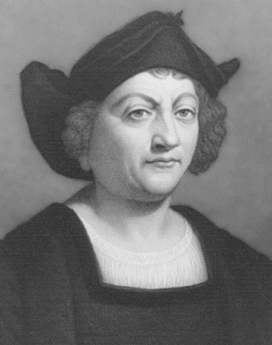 A less than hot rendering of Christopher Columbus