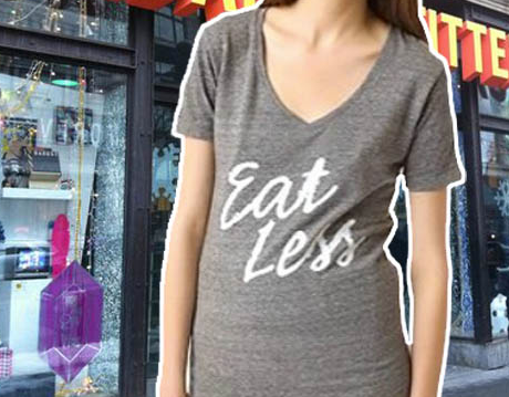 "The ""Eat Less"" tee is just one of many products in Urban Outfitters' history that's caused a stir"