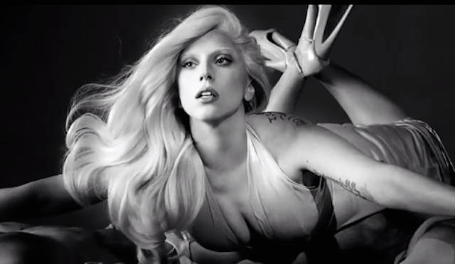 "Still from the commercial for ""Eau de Gaga,"" the not so fresh sounding perfume"