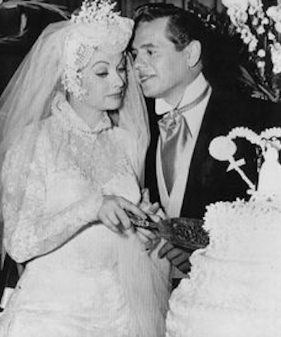 The marriage of Lucy and Ricky