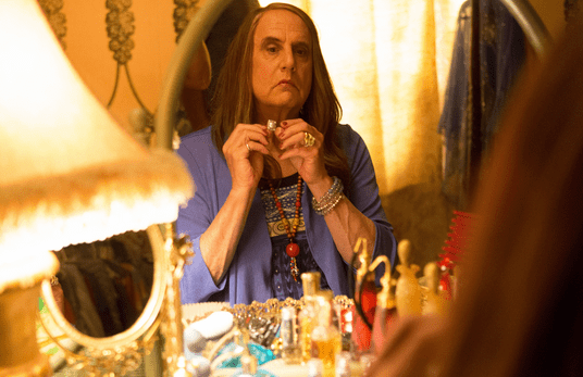 Tambor as Mort/Maura, the role of his lifetime