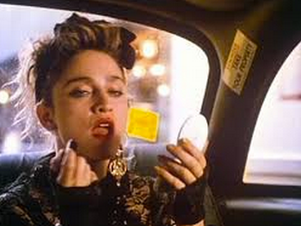 Madonna as Susan couldn't pay the cab fare