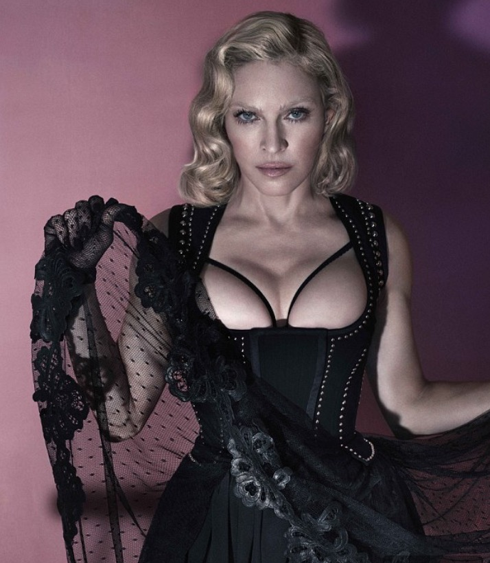 A prostitute madonna was Eurovision 2019: