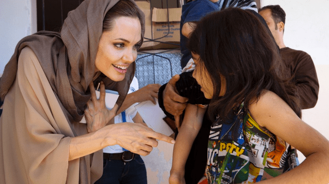 It Takes Angelina Jolie To Make People Care