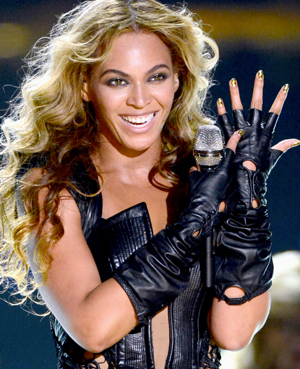 Beyonce kept the feminist motif going in 2013