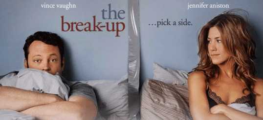 Promotional poster for The Break-Up