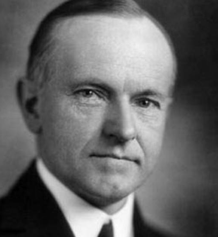 Calvin Coolidge: real laidback