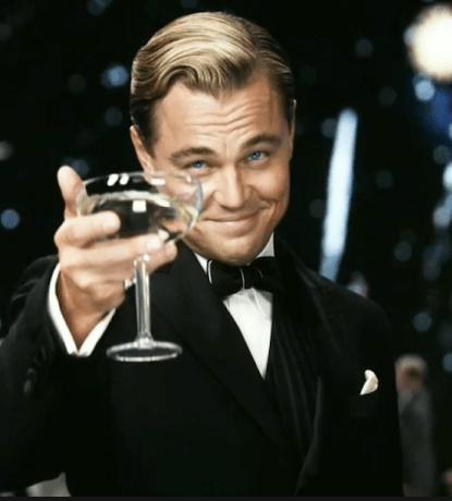 Here's to my next Oscar