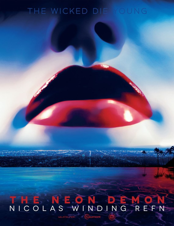 Promotional poster for The Neon Demon