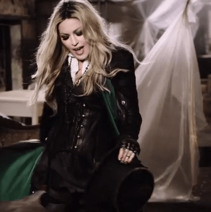 "Madonna Channels Apocalypse, Stevie Nicks in ""Ghosttown"" Video"