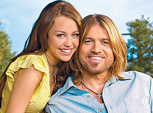 Miley cyrus and dad fucking think