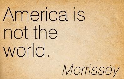 Morrissey's classic quote