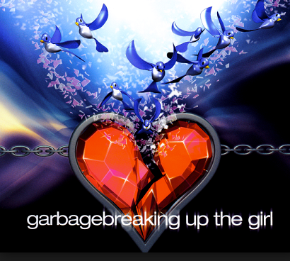 """Single cover for """"Breaking Up the Girl"""""""
