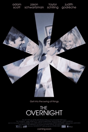 Promo poster for The Overnight