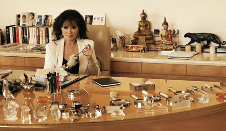 Jackie Collins, The Queen of Trash, Departs