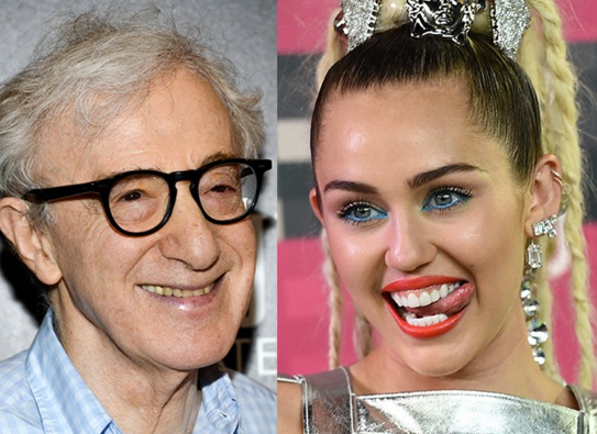Is Miley Cyrus Working With Woody Allen the Most Perverse Combination Yet?