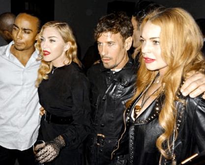 Lindsay Lohan's Got A Case of the Madonnas