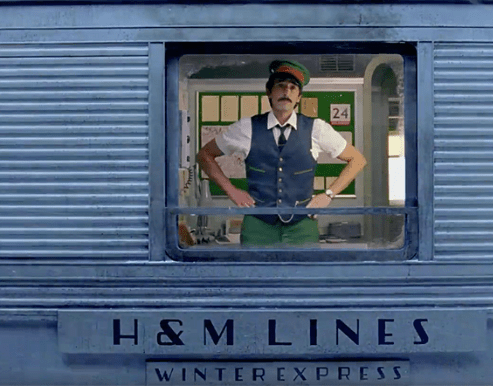 Wes Anderson Infuses H&M With A Touch of The Darjeeling Limited