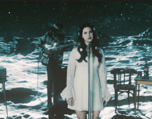 "Lunar Love: Lana Goes 60s With A Hint of Futurism in ""Love"" Video"