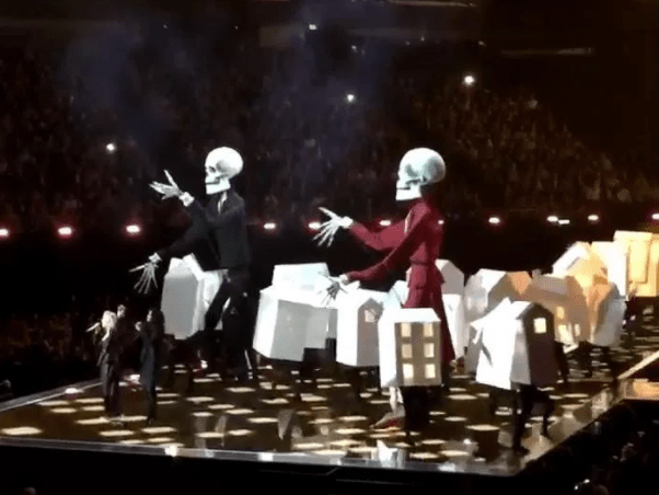 Katy Perry Can't Stop, Won't Stop With Political Statements, This Time at the BRIT Awards