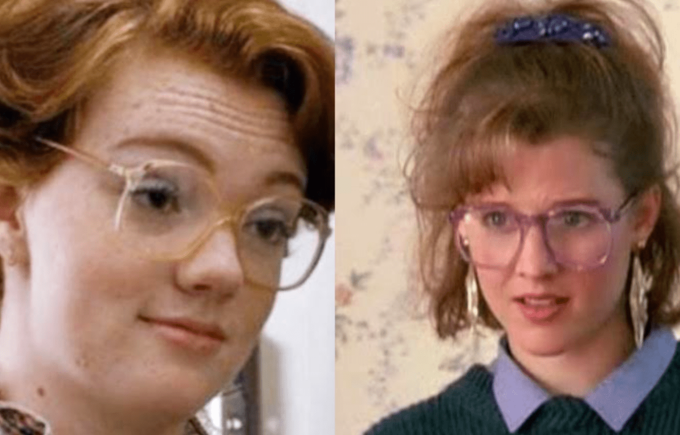Brenda in Adventures in Babysitting as Precursor to Barb in Stranger Things