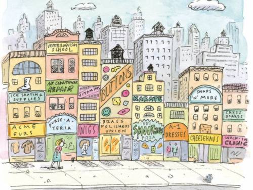 Roz Chast's Retrospective at SVA Chelsea Gallery Reminds Us That You Don't Have to Feel Ashamed About Liking New York