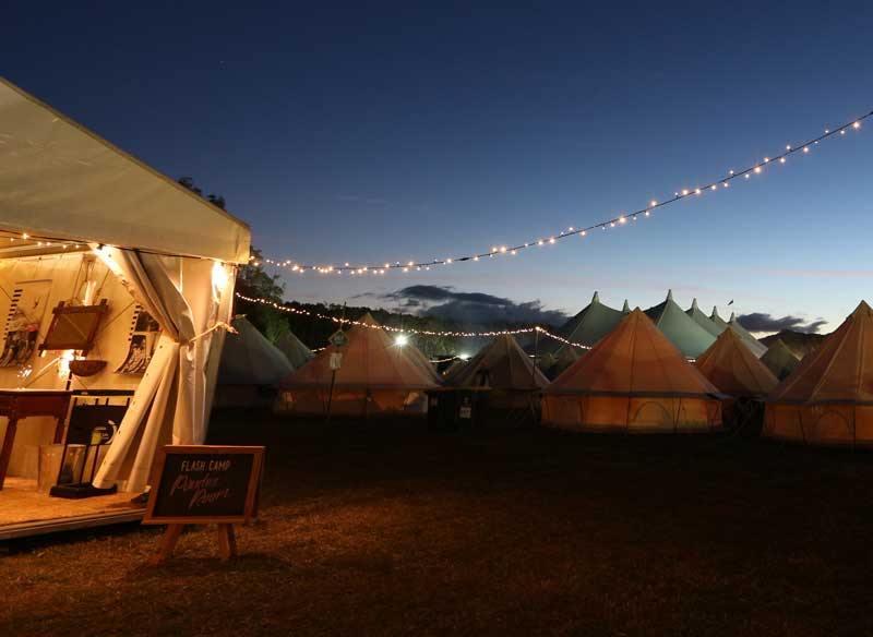 Festival Volunteer, Escape Cully Fest flight package from Sydney, Base Camp Cully Fest